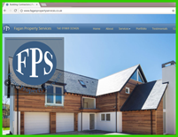 Property Maintenance Website design and copywrite